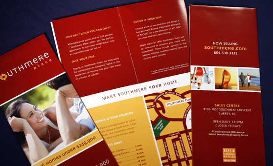 Southmere Place Real Estate Project Marketing Design - Rennie Marketing Systems