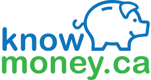 KnowMoney.ca financial education blog logo design - Vancouver, BC